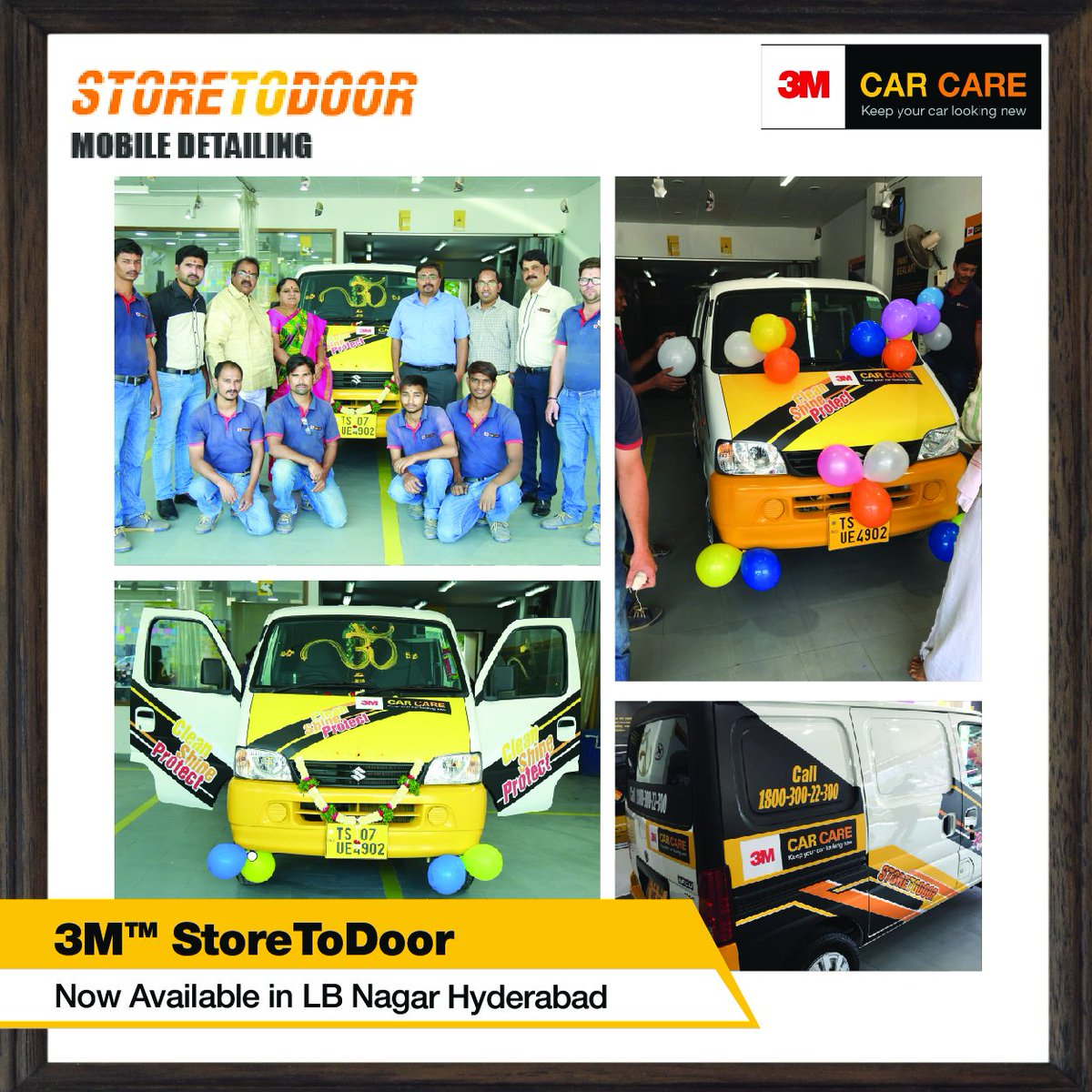 3m Car Care India On Twitter We Ve Opened Our First Store To Door