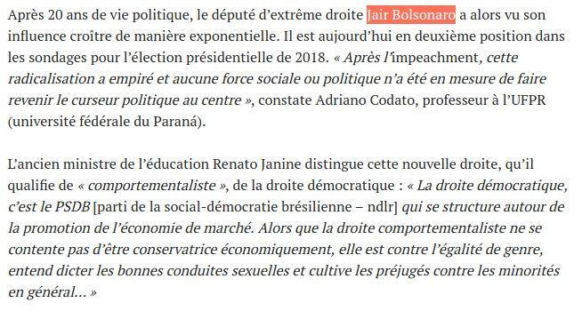#Bresil Jair Bolsonaro = Trump +  Mike Pence ? Oui ! <br>http://pic.twitter.com/G032BriBaJ
