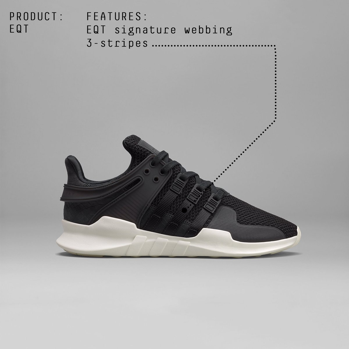 An essential colour update lands for the EQT Support ADV. Arriving in stores November 17th.