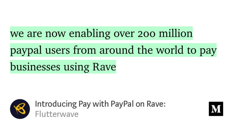 """We've got some news! → """"Introducing Pay..."""