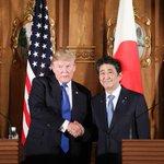 日米首脳会談、対北朝鮮最大限の圧力をかける」で一致 安倍首相、35団体・個人の資産凍結を表明sank…