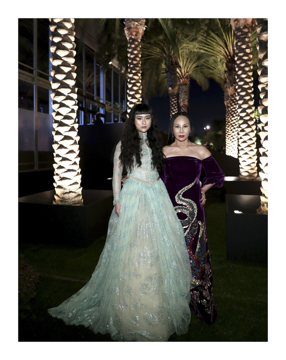 Eva Chow and Asia Chow together at @lacma's #artandfilm Gala presented by #Gucci. #AlessandroMichele