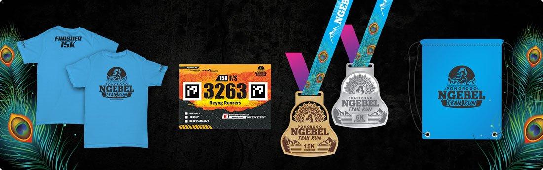 Racepack Ngebel Trail Run • 2017