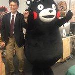 なんと!新しい熊本復興プロジェクトの約束ばしてくれたモン!ボクもとってもわくわくま〜☆みなさん楽しみ…