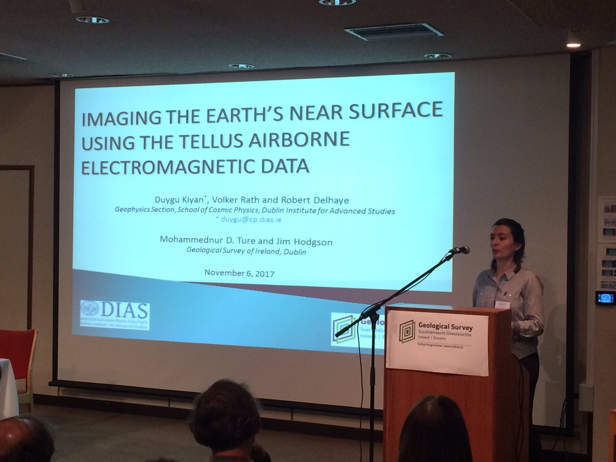 test Twitter Media - Dr. Duygu Kiyan from @dias_geophysics presents research on #tellus airborne EM data. #TellusHalfWay https://t.co/sJh2lkDYh4