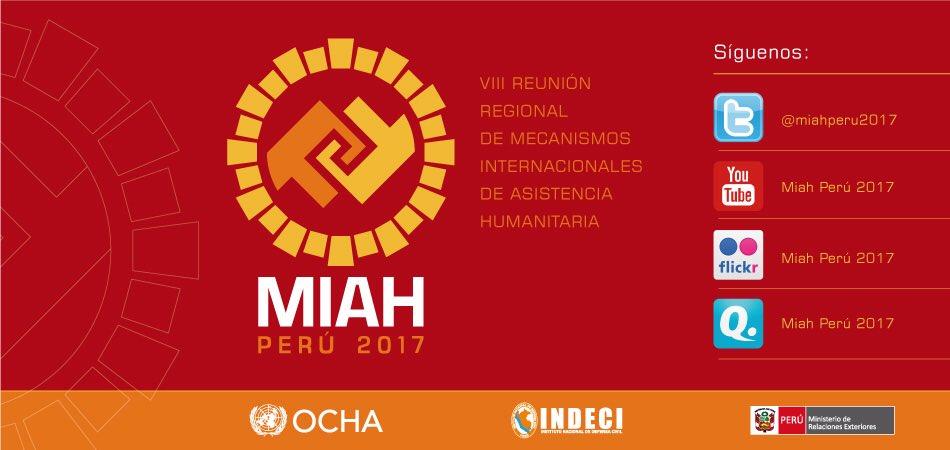 f5d644aee Mañana inicia el  MIAHPeru2017 síguelo a través de sus redes sociales y si  eres participante