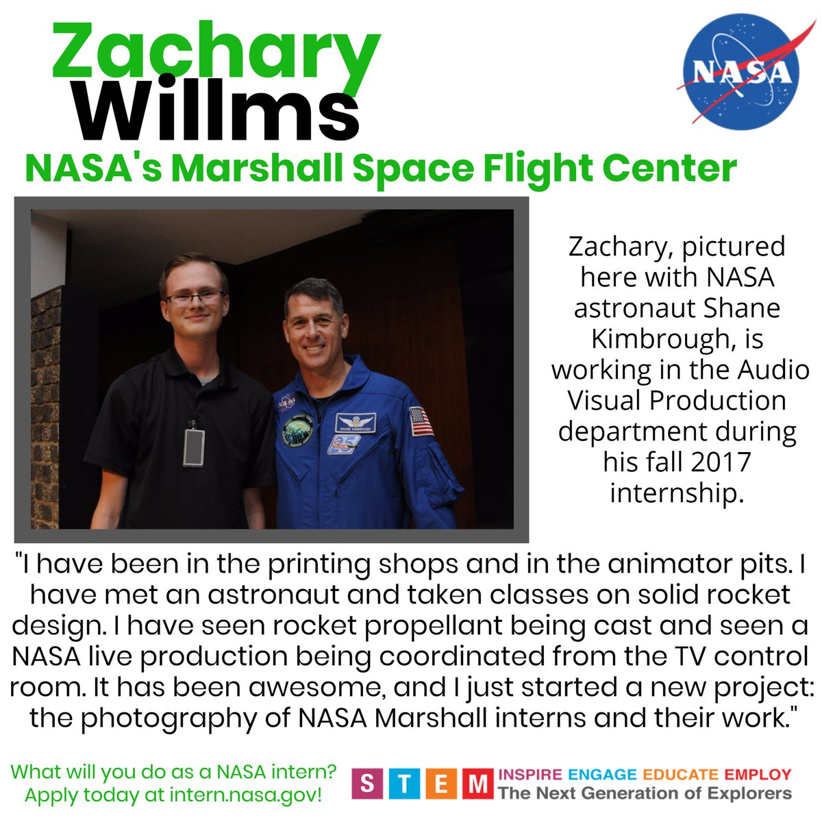 NASA Internships on Twitter: