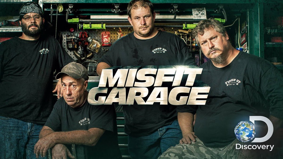 #Hoy  Misfit Garage   11:40 hs|#DISCOVERY 310<br>http://pic.twitter.com/tShLTC7qhg