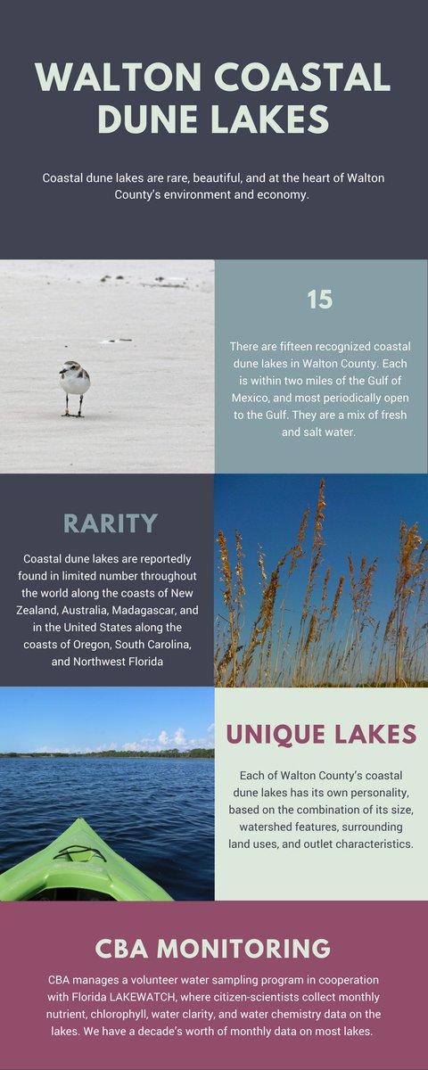 #MarineMonday - coastal dune lake infogr...