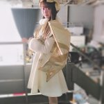 2ndシングルも可愛い衣装を作っていただきました😢💓これはMV撮影の時に着たオーナメント風の衣装です…