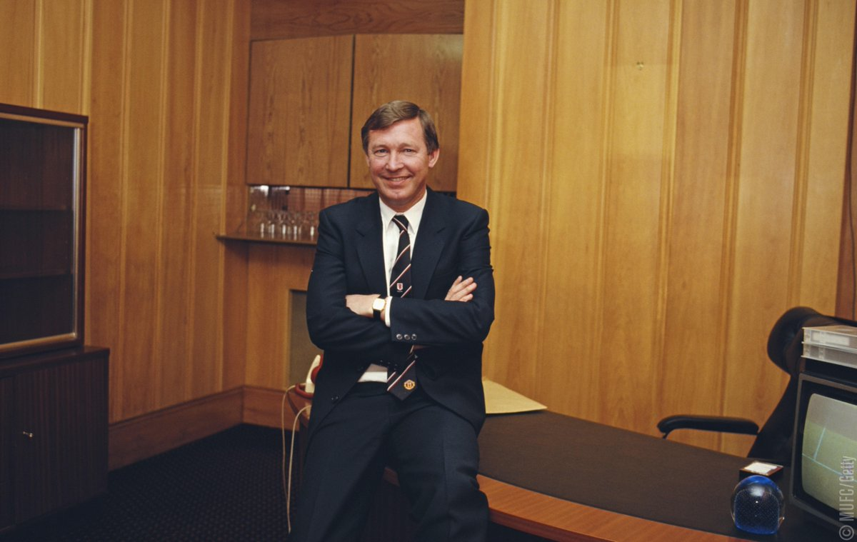 31 years ago today, Sir Alex Ferguson became manager of Manchester United.