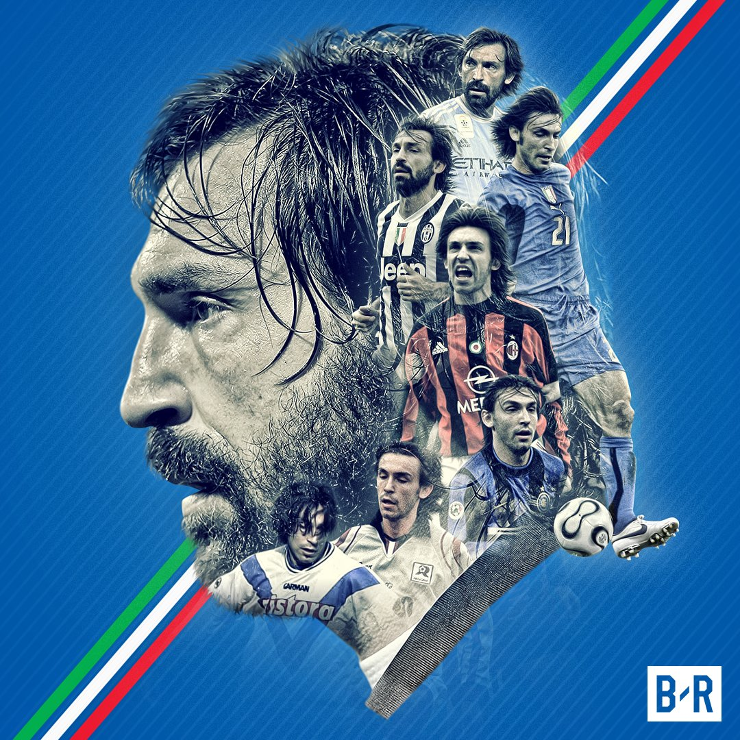 Andrea Pirlo has announced his retirement from football.   Grazie, Maestro 🙌