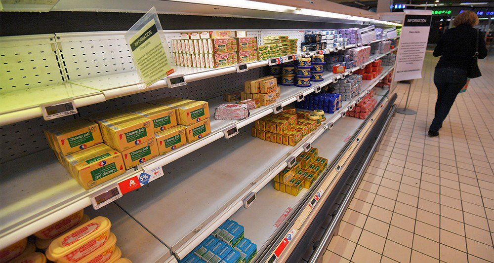 #Beurre : les ruptures de stocks en grandes surfaces s'amplifient >> https://t.co/fbz2Ro4Ejs