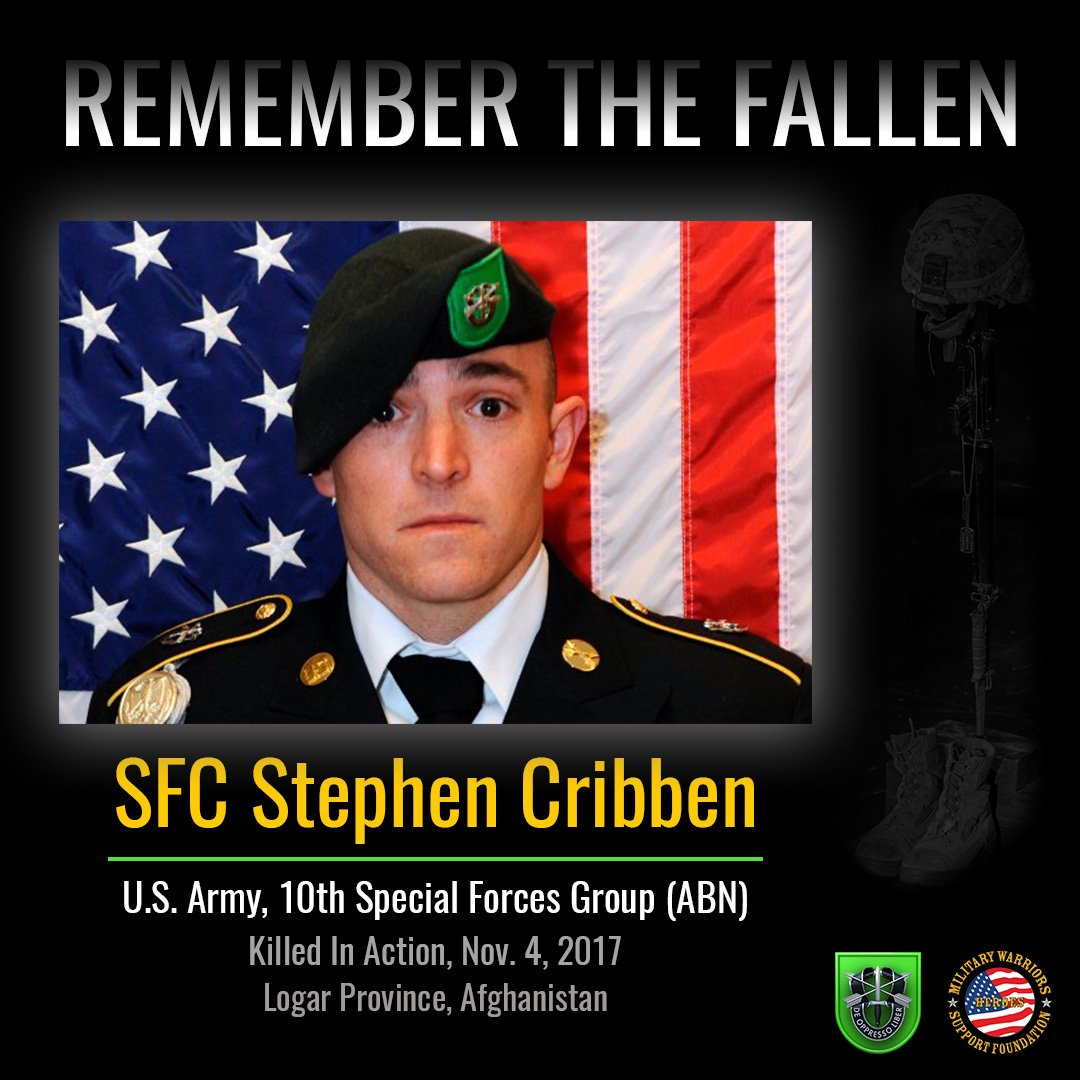 f8050079874c9 ... and members of the  10thSpecialForcesGroup.  https   www.armytimes.com flashpoints 2017 11 05 pentagon-identifies-green- beret-killed-in-afghanistan  ...