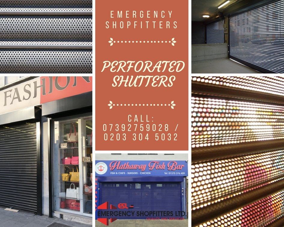 Are you looking forward to #perforated #shutter installation services in #London? Call: 0203 304 5032 Or Visit -  https:// goo.gl/5MQsL6  &nbsp;   #UK<br>http://pic.twitter.com/nmkbrlwmXK