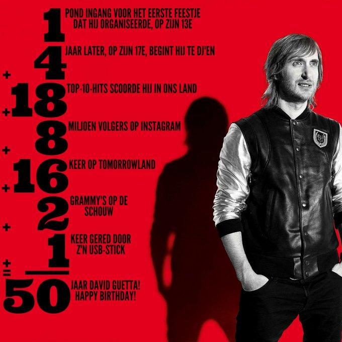 Happy birthday, 50 jaar oud = 50 weetjes over de grootste DJ ever!