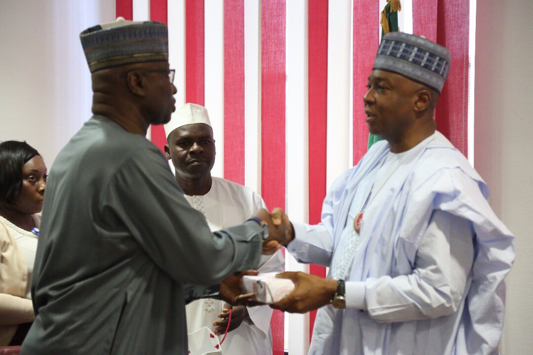 Secretary to Government of Federation [SGF], Boss Mustapha on Monday stated that Executive is not in competition with the legislative arm of govt.