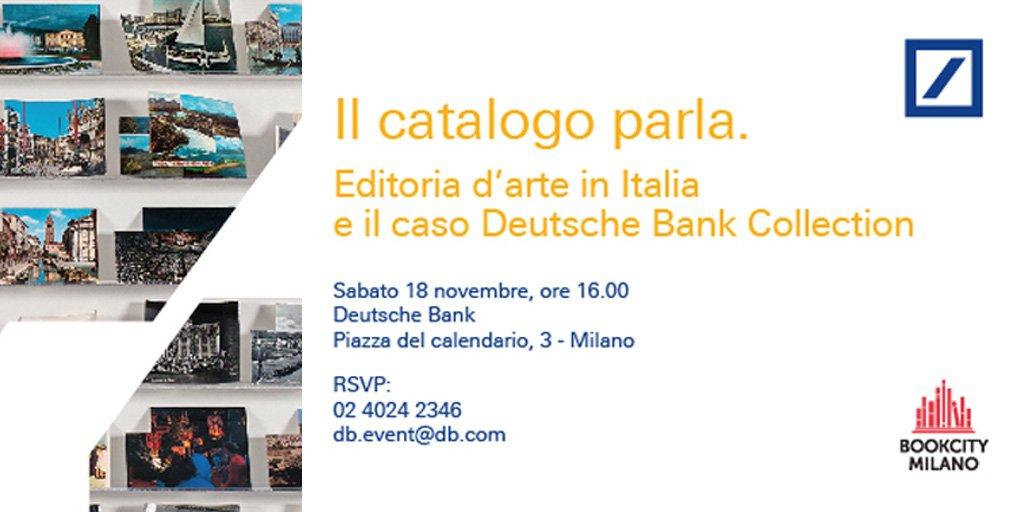 Piazza Del Calendario 3 Milano.Deutsche Bank Italia On Twitter 10 Anni E 600 Opere