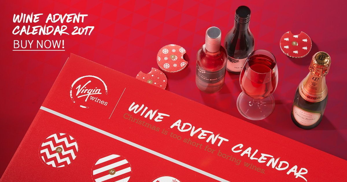 Virgin Wines Advent Calendar.Virgin Wines On Twitter Virgin Wines Advent Calendar The Perfect