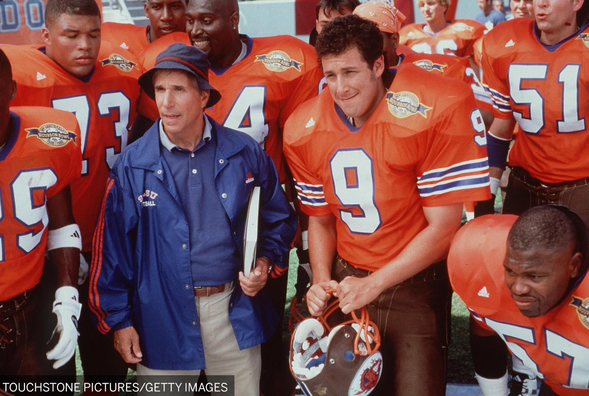 On this date in 1998, Bobby Boucher showed up at halftime and the Mud Dogs won the Bourbon Bowl. https://t.co/8dYXBxS3IL