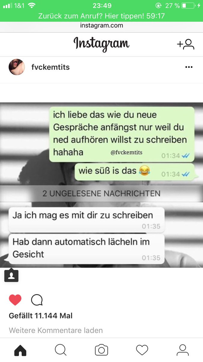 Kommentare süße instagram Instagram Auto