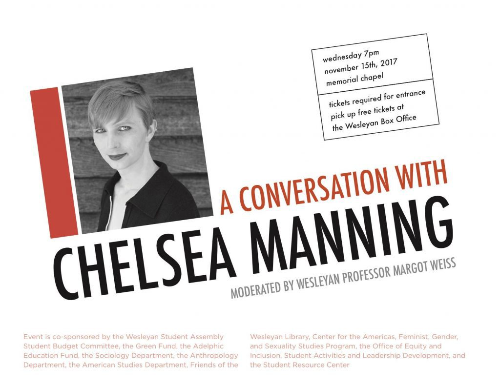 test Twitter Media - Conversation with Chelsea Manning co-sponsored by Friends of Wesleyan  Library. Free tickets at Box Office https://t.co/plLdTmMuAt https://t.co/d9HJ5NzCBF