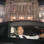 先日の官邸に引き続き… 今夜の迎賓館へも自分で運転して行きました笑  明日の@ZIP_TV で今夜の…
