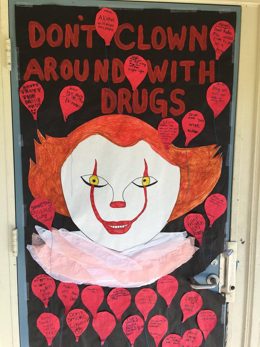 Collins School On Twitter More Spooky Red Ribbon Week Door