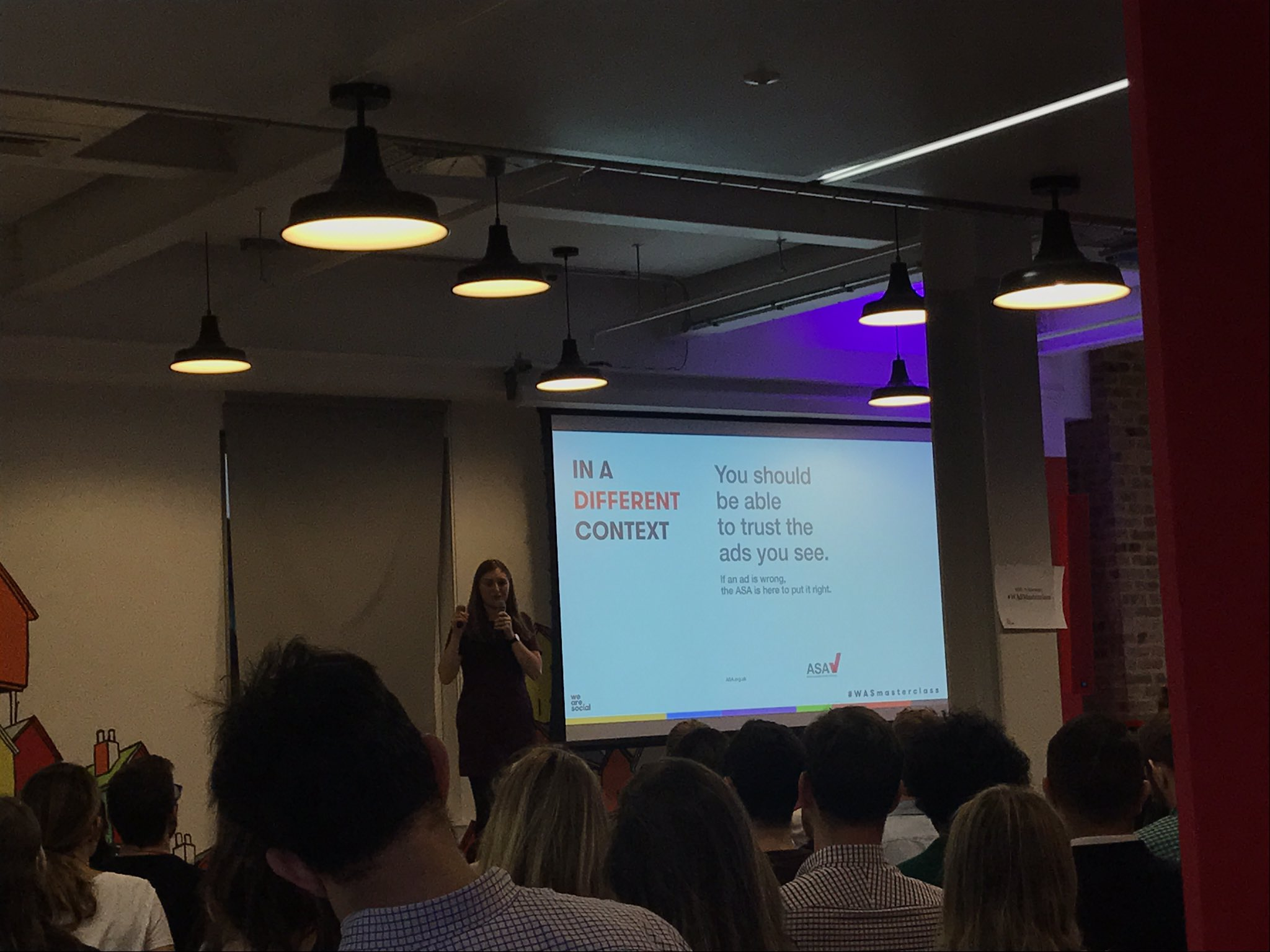"""Work with people who have trusted voices"" @florlujani at #WASMasterclass  @wearesocial #InfluencerMarketing https://t.co/c2a8F0uuIN"