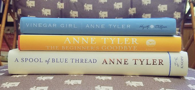 Happy Birthday to Anne Tyler!