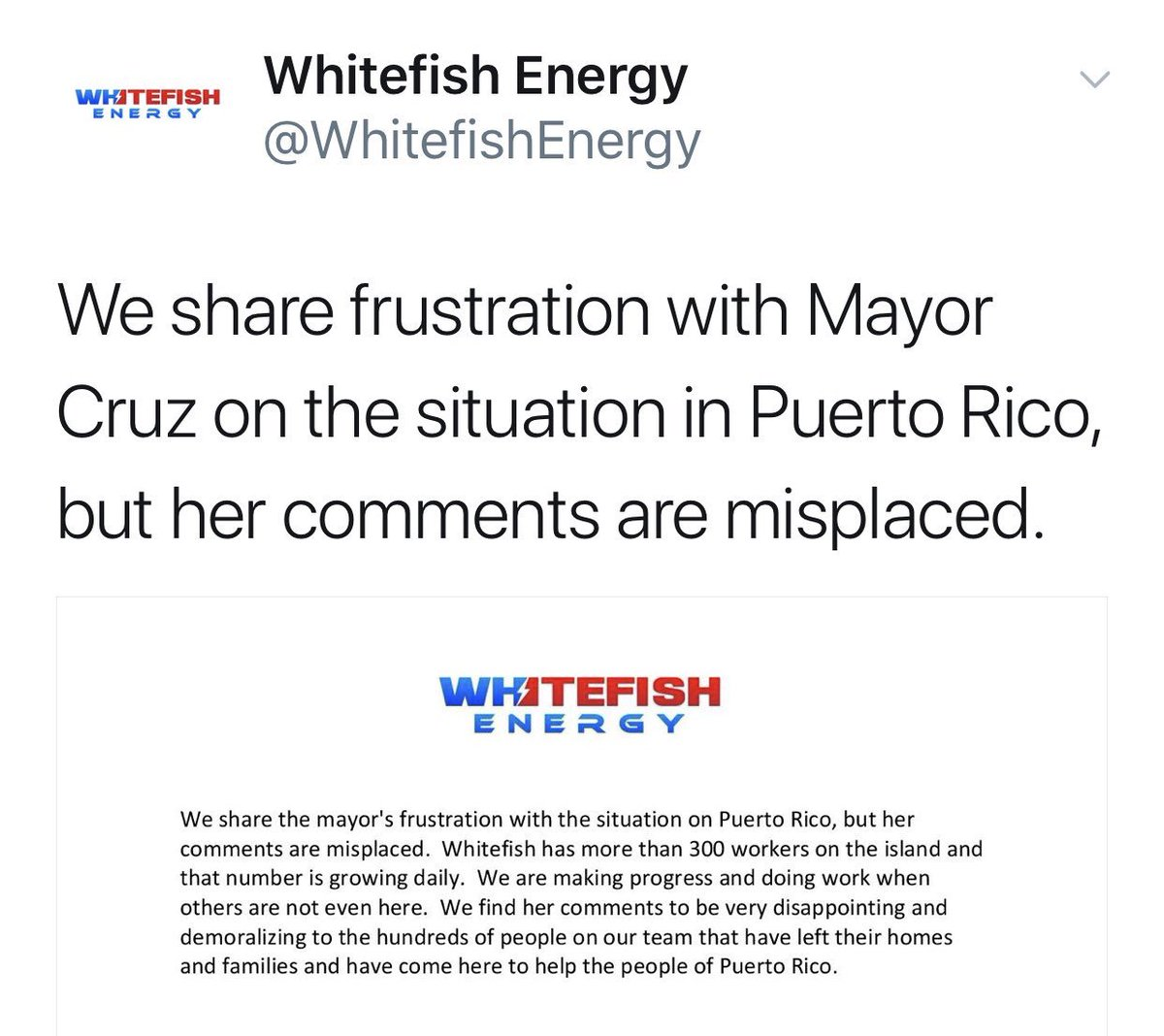The Montana Company With The Puerto Rico Energy Deal Is Fighting On Twitter With San Juan's Mayor