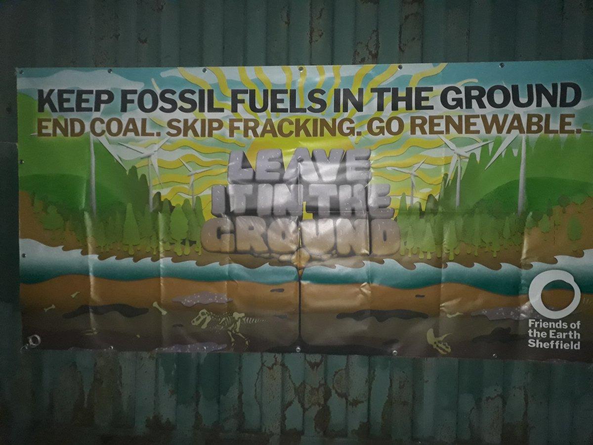 Natalie Bennett On Twitter Signsofthetimes In Woodsetts Rotherham All Variations Of No Fracking Sheffield