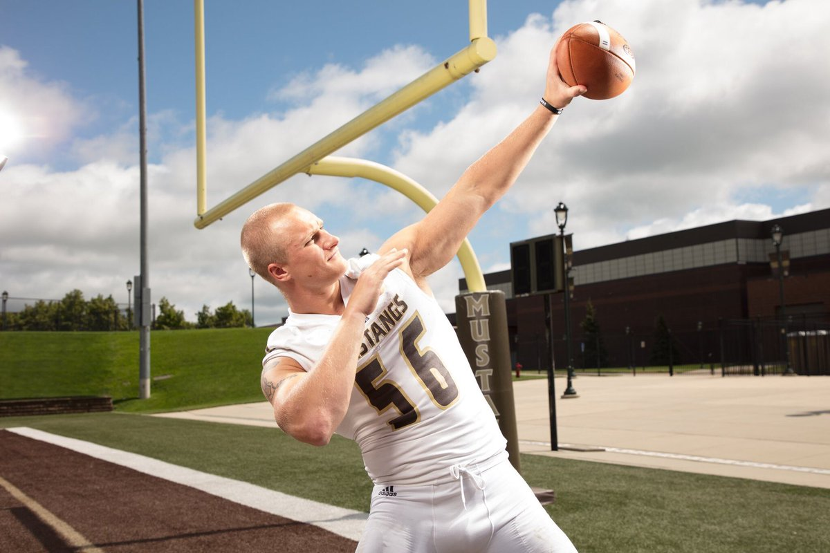 Smsu Football On Twitter Defensive Pow Is Captain Alex Ney With