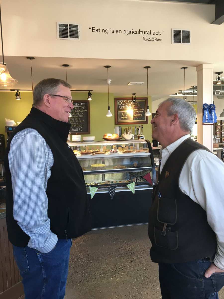 Wisconsin DATCP On Twitter Jeff Lyon Toured Farm To Table In Amery - Farm table amery