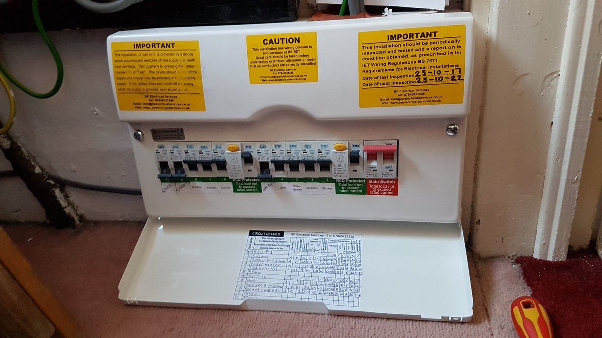 Bp Electrical Services Bpelectricsuk Twitter Uk Wiring Regulations 0 Replies Retweets Likes