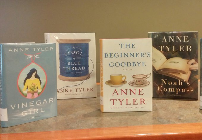"""I read so I can live more than one life in more than one place.\"" Happy birthday, Anne Tyler!"