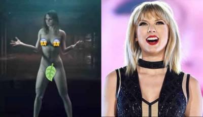 Taylor Swift Mundorosa Taylor Swift Desnuda Para Video Musical