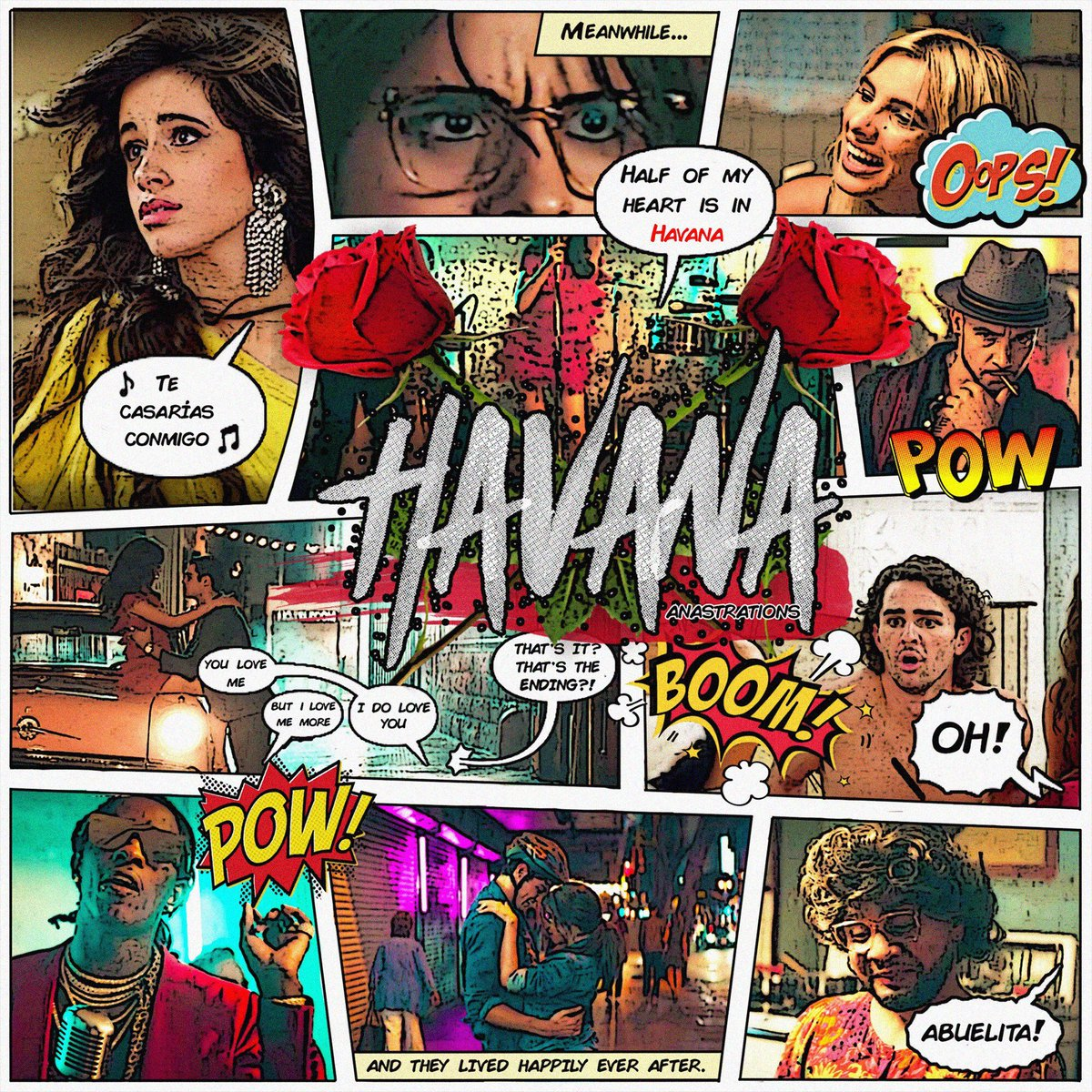 WHOAHHH!! We just geeked out over this. @zapdawn you're so talented!! i wanna see other art u guys are drawing for Havana the movie...🦋