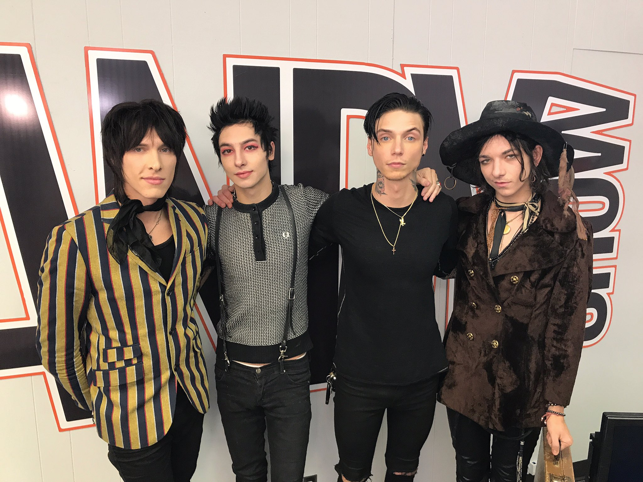 "Palaye Royale On Twitter: ""Thank You @andyblack For Having"