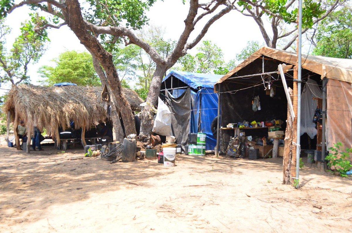 Onze trabalhadores em condição análoga a de escravo são resgatados no Pantanal de Mato Grosso do Sul https://t.co/Rsu9IoT69I #G1