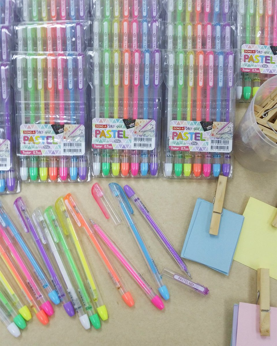 National Book Store On Twitter Available In 7 Pastel Colors Dong A S My Gel Pastel Pens Write Smoothly And Add That Pop Of Color To Your Notes And Doodles Nbsat75 Https T Co Vtlc6qzyss