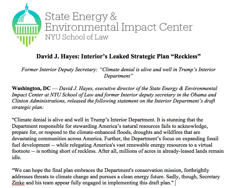 """alive and well statement State Impact Center on Twitter: """".@djhayes01: """"Climate denial is ..."""
