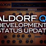 Waldorf #Qxr Development status update - https://t.co/jxZg85ZVvu #Micro-qxr #Waldorfmusic #Waldorfq