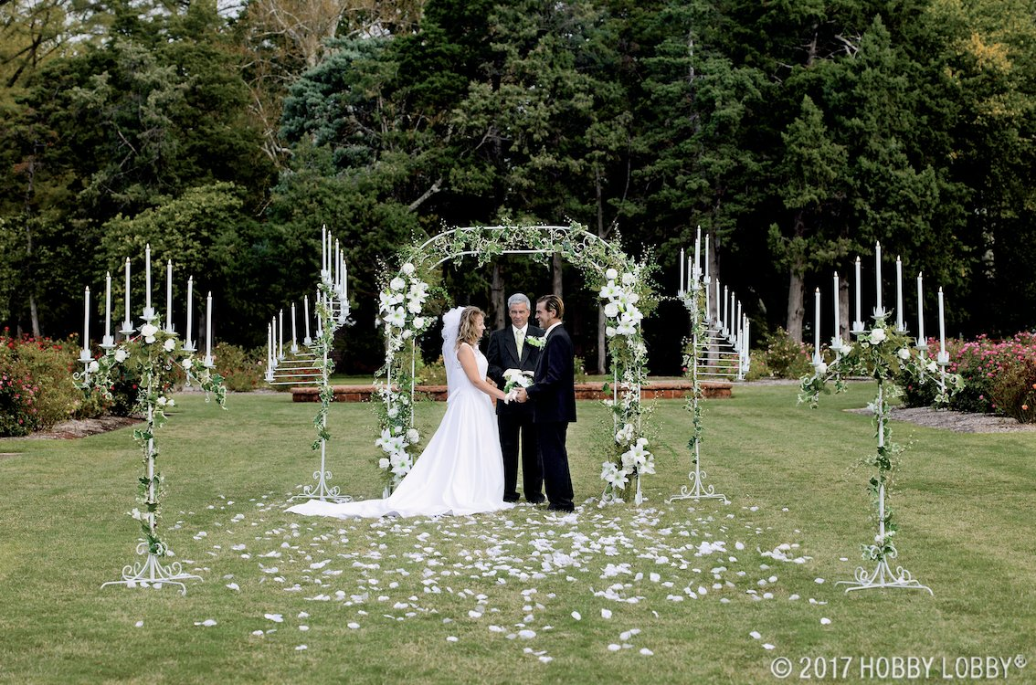 Official Hobby Lobby On Twitter Set The Scene For The Wedding