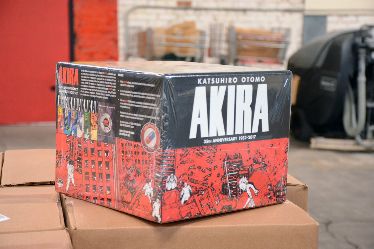 Right Stuf Anime On Twitter Look At What Came In Today The Your Name Standard Edition And The Akira 35th Anniversary Manga Box Set Yourname Akira Https T Co Kgyxbxzrnm