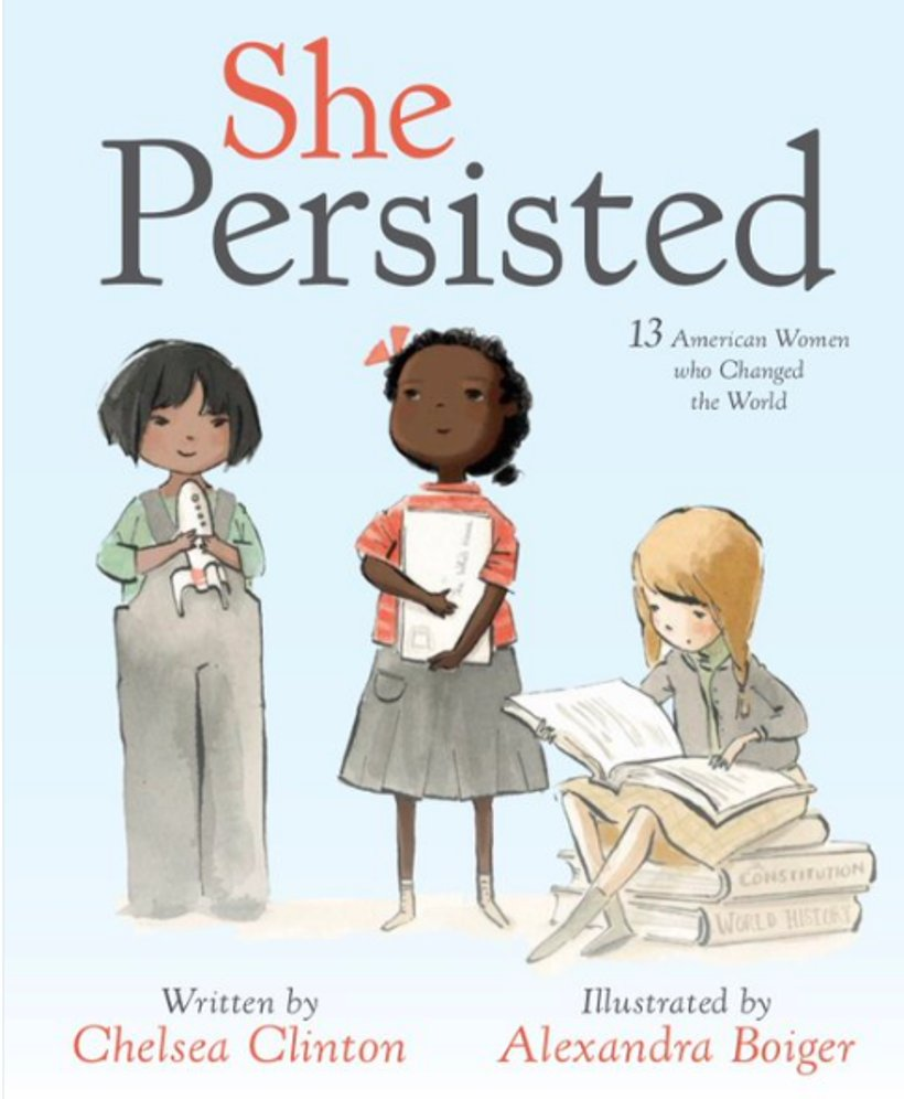 """""""We need more children's books with female main characters"""" We agree @ChelseaClinton https://t.co/VWR0YF4tlL"""