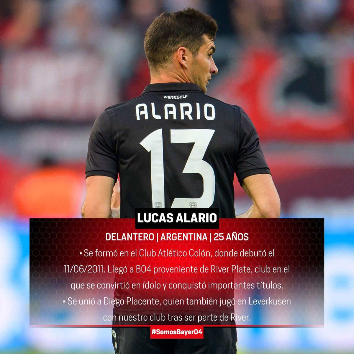 Camiseta Bayer 04 Leverkusen Lucas Alario