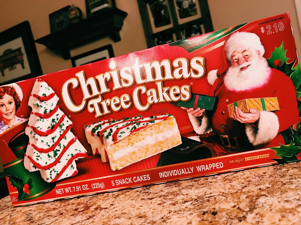 Jess On Twitter Little Debbie Christmas Tree Cakes Elementary