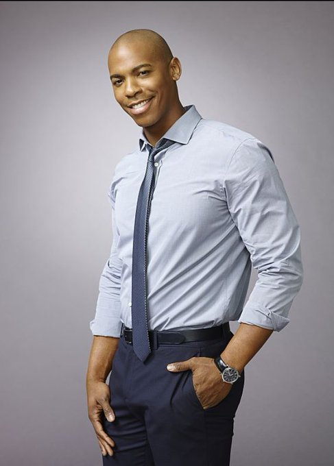 """Let\s wish a very happy birthday to Mehcad Brooks who plays James \""""Jimmy\"""" Olsen/ on"""