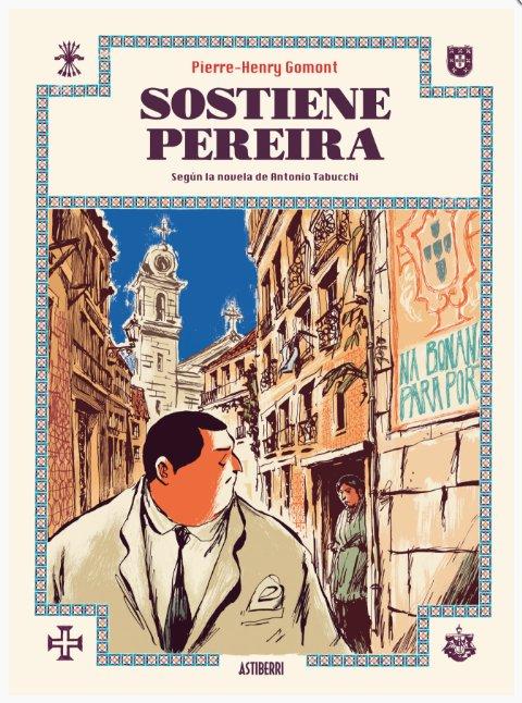 Pierre-Henry Gomont adapta al cómic la novela del escritor italiano Antonio Tabucchi para @Astiberri   astiberri.com/products/sosti…